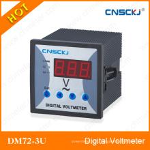 Dm72-3u-1 Программируемый коэффициент CT / PT Цифровой измеритель напряжения