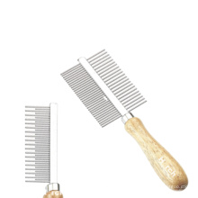Pet Accessory World Best Selling Products Lice Comb for Dog Grooming