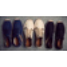 Высокое качество мужчины повседневная обувь джута единственной оптовой зашнуровать стиль