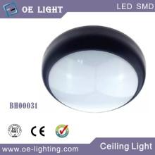 Tabique hermético de 15W LED con Sensor de microondas