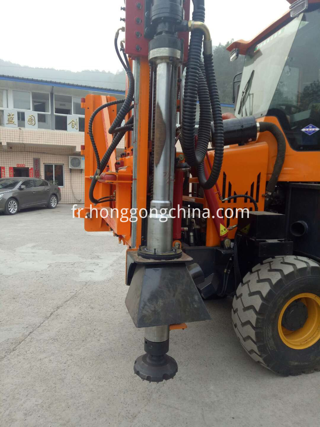 Competitive Hydraulic Diesel Hammer Pile Driver