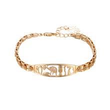 75446 xuping charme de ouro moda jóias pulseiras pulseira de mulheres