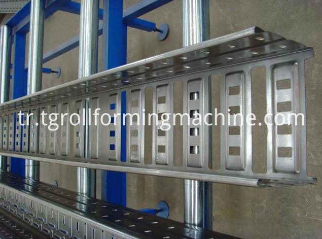 Steel Ladder Cable Tray Machine