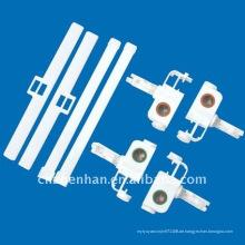 Vertikale Jalousien Zubehör, Vorhang Zubehör, Aufhänger + Träger + Abstandhalter, vertikale Blind Teile