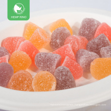Hot sales in Amazon Full Spectrum Organic vegan L-Hemp CBD Gummies with private label