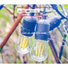 SL-1056 E26 étanche lampe série branchez la série de lampe de cordon d'alimentation SJTW CORDS