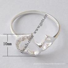 2105 Anillo de dedo de los pescados de la plata esterlina de Gets.com 925