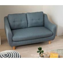 O linho 100% do poliéster de linho de imitação olha telas do sofá