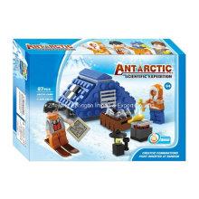 Boutique Baustein Spielzeug-Antarktis Wissenschaftliche Expedition 04