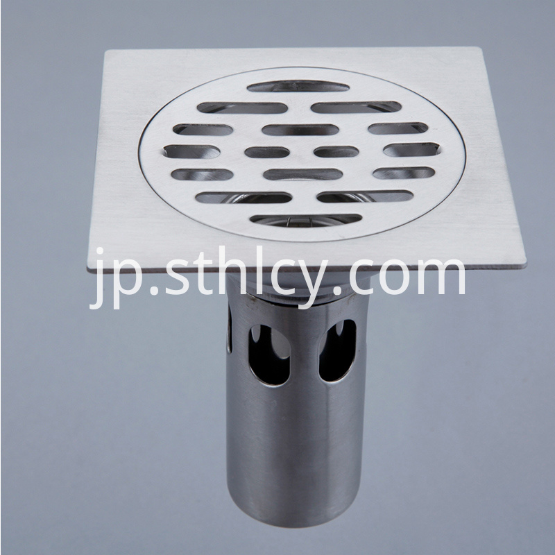 Eco-friendly Polished Floor Drains