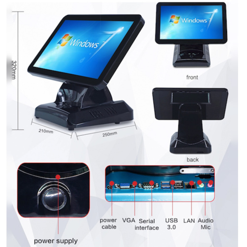 Tablet fabbrica pos tablet Android