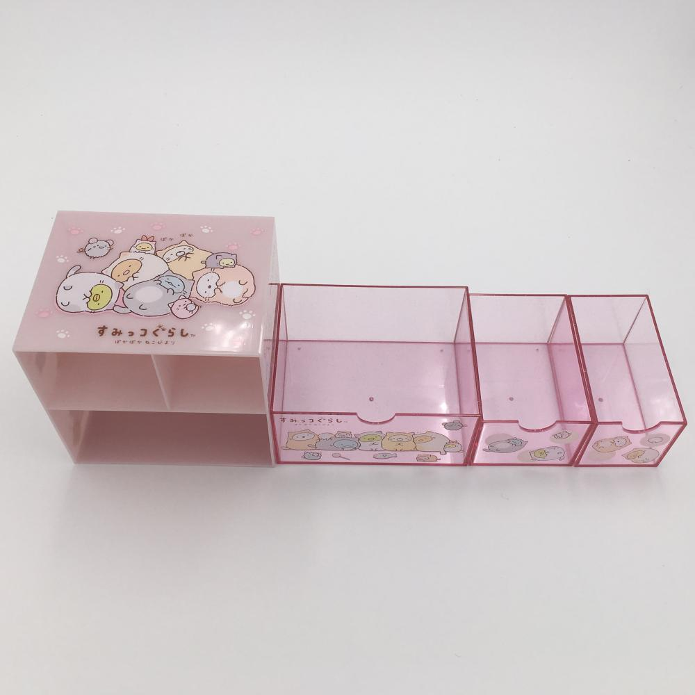 storage box with drawer