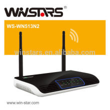 300Mbps wireless N wifi router with 2 detachable antennas, Supports UPnP, DDNS, static routing