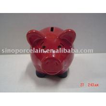 Caixa de dinheiro cerâmica