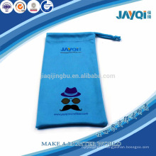 screen printing sunglasses cloth pouch with drawstring