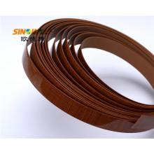 Деревянные зерна ПВХ Кромкооблицовочный для мебели доска