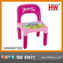 New Design Funny Light And Music Plastic Children Chair