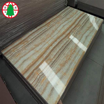 High glossy wooden UV melamine MDF board