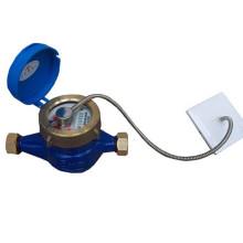 Análise anormal do uso da água analisa o medidor de água de leitura direta