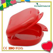 Caixa odontológica portátil de plástico médico