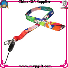 Fashion Lanyard with Mobile Strip Holder