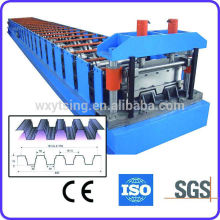 Pass CE & ISO-Authentifizierung YTSING-YD-0091 Roll Forming Deck Floor Machine