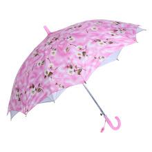 Double Layers Flower Printing Kid/Children/Child Umbrella (SK-19)