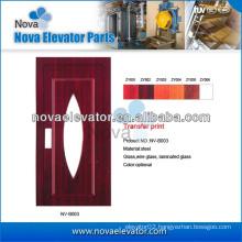 Hairline Stainless Steel Elevator Automatic Door / Elevator Manual Door