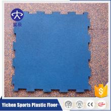 Yichen 15mm-30mm ginásio revestimento intertravamento tapetes de borracha