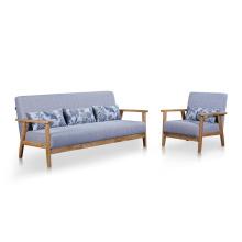 Conjunto de sofá de sala de estar 1 + 2 + 3 moderno