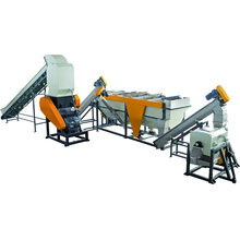 Máquina de reciclaje de la escama del HDPE 1000kg / H para lavarse Granulating