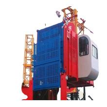 Jiuhong 2t SC200 SC100 material and passenger lifting elevator