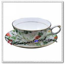 B161 200ml Tasses et soucoupes à thé YAMI Salix Leaf 2