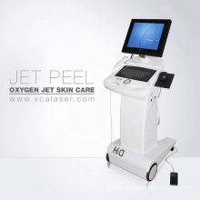 Máquina multifuncional del oxígeno del instrumento de la cáscara del jet del cuidado de la piel