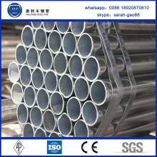 China Factory vend des tuyaux pré-galvanisés de haute qualité