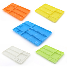 With CE FDA ISO Certificated Autoclavable Dental Divided disposable Instrument Plastic Tray