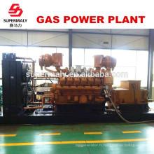 Economie d'énergie Générateur de gaz naturel de qualité 500 KW par technologie de pointe