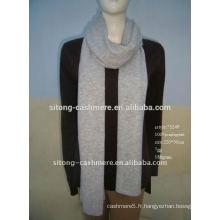 100% pur cachemire pashmina tricot tricot tricoté impression écharpe
