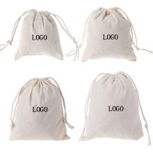 printed logo white black canvas shoe drawstring bag organic cotton drawstring bags