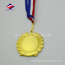 New design of the wreath medals blank medals