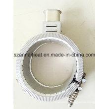 Elemento de aquecimento de banda de aço inoxidável para equipamentos industriais