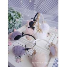 BJD protetores de ouvido banda de cabelo para boneca com articulação esférica SD / MSD / YOSD