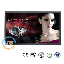 wall mounted 50 inch touch screen monitor with HDMI DVI VGA input