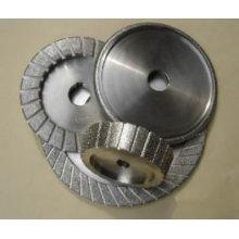 diamond electroplated abrasive grinding wheel