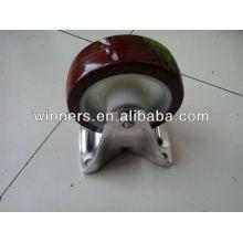 roulette de roue de table en polyuréthane