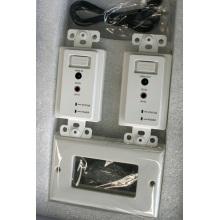 Over Dual UTP Cat5e / 6 30m Extension de plaque murale HDMI avec IR