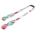 Moda caliente de la venta England Check Designs Woven Silk Men Bow Tie
