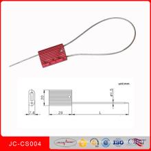 Сгкс-004 высокого уровня безопасности уплотнения металла Электрический счетчик уплотнения контейнера Кабельные стяжки Кабельные уплотнения для тележки