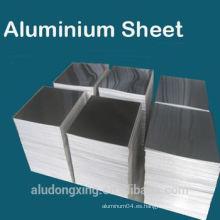 1050 0 Hoja de aluminio