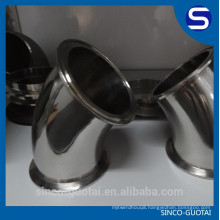 304 316 sanitary stainless steel 90 degree clamp elbow